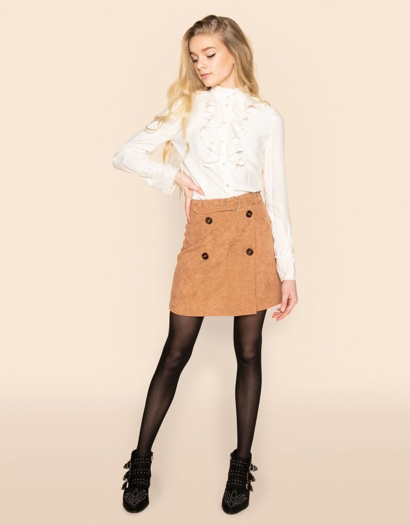 Frankie&Liberty Frankie&Liberty Ada Skirt 15 TAN-FL21817