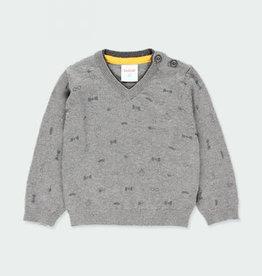 Boboli Boboli Knitwear pullover with elbow patches for boy