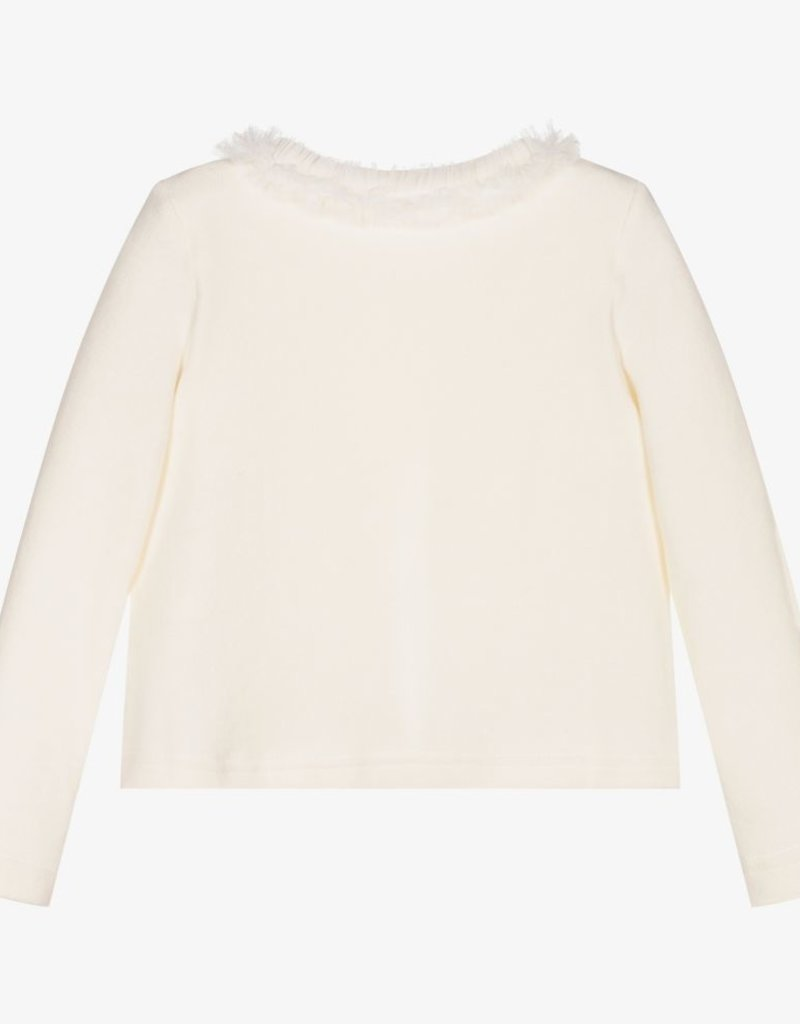Ballon Chic Balloon Chic  KNITTED JACKET  off white