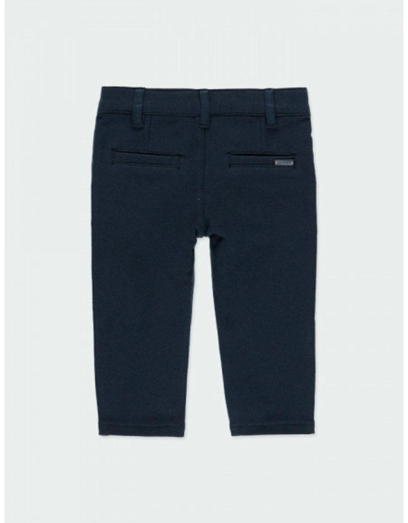 Boboli Boboli Stretch fleece trousers for baby boy blue710008
