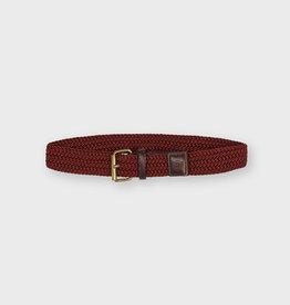 Mayoral Mayoral Elastic braided belt bordeaux