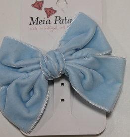 Meia Pata Meia Pata Double Velvet Hair Tie 11 Baby Blue