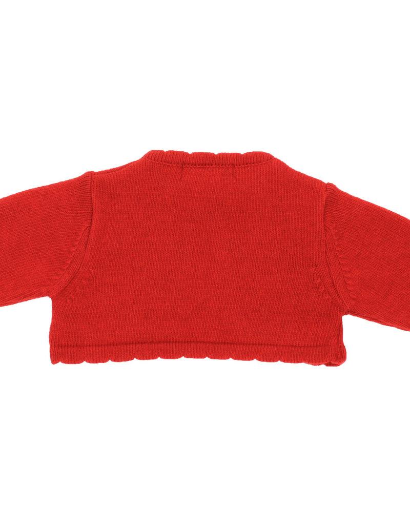 Dr Kid Dr Kids Girl Short Cardigan red