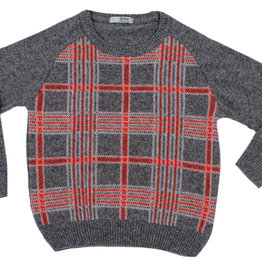 Dr Kid Dr Kid Boy Sweater grey-red