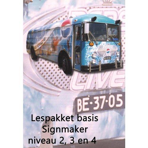 112048 - Lespakket basis Signmaker niveau 2, 3, 4
