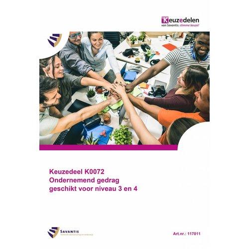 117011 - Keuzedeel K0072 Ondernemend gedrag (geschikt voor niveau 3 en 4) (papieren versie)