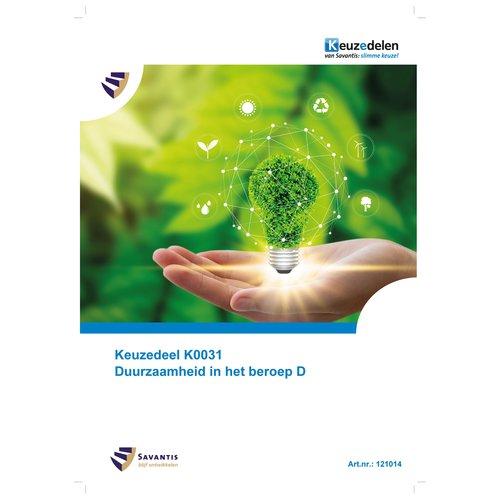 121014 - Keuzedeel K0031 Duurzaamheid in het beroep D (papieren versie)