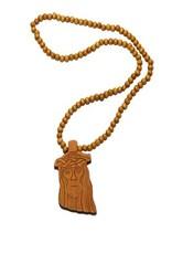 Collier Wood Fellas Jesus marron