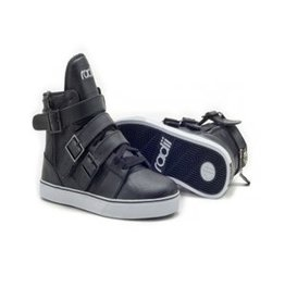 Radii Straight Jacket Vlc. Black Leather