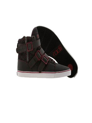 Radii Straight Jacket Vlc. Black Burgundy