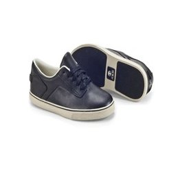 Radii Noble Low. Black Leather Cream