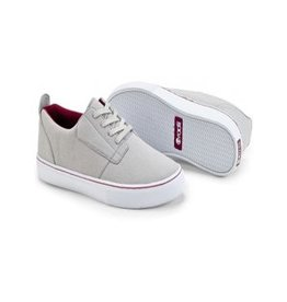 Radii Hampton Low.Grey Burgundy Canvas