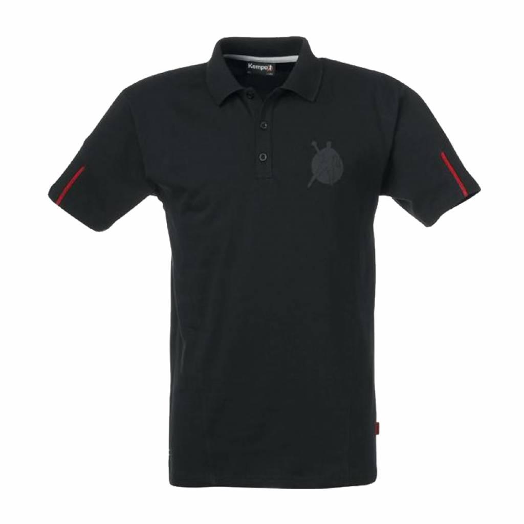 Kempa Polo-Shirt CORPORATE Noir