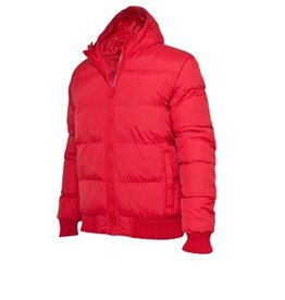 Urban Classics Hooded Bubble Blouson Red