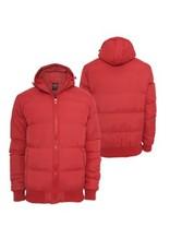 Urban Classics Hooded Bubble Blouson Red