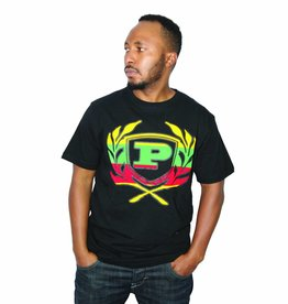 Phat Farm Short Sleeve Rasta Black