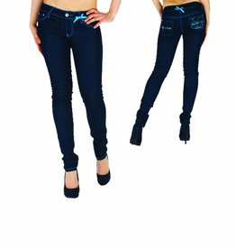 Dada Ladies Skinny Mary Raw Indigo