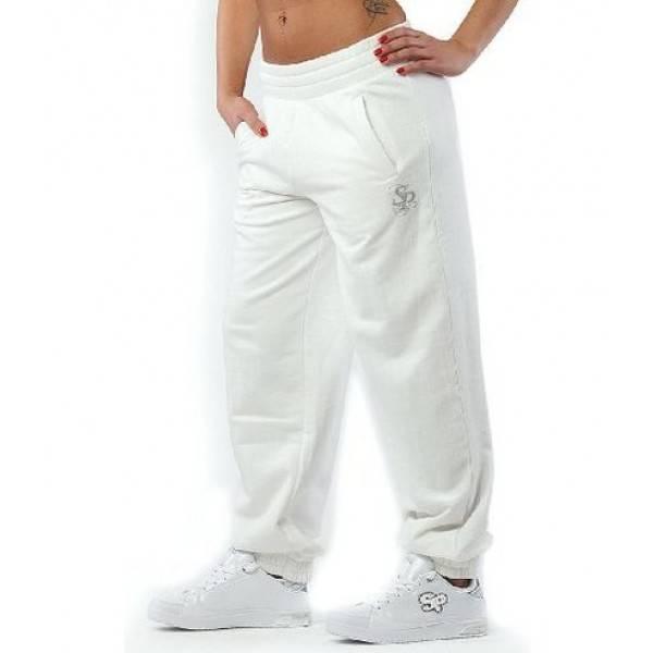 "SOUTHPOLE ""Basic Girlie Sweatpant"" Jogginghose | Weiß"