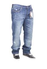 Phat Farm Straight Fit Jeans  Dark Wash