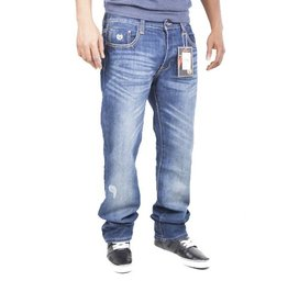 Phat Farm Straight Fit Jeans  Dark Wash