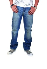 Levi's 501, Regular Jeans (blue wash)