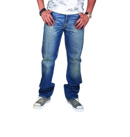 Levi's 501, Regular Jeans (blue wash)