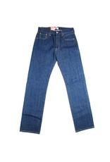 Levi's 501, Straight Leg Button Fly Jeans (Navy Blue)