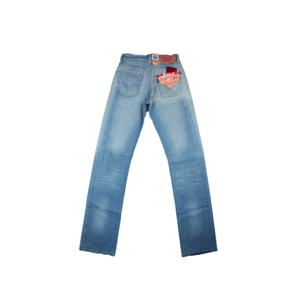 Levis 501, Jeans Regular (Bleu Clair)