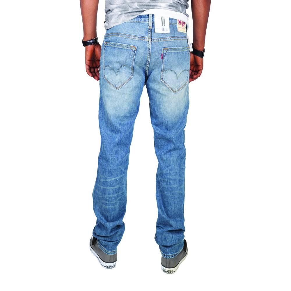 Levi's 519 Skinny-Leg Jeans (Light Blue Wash)