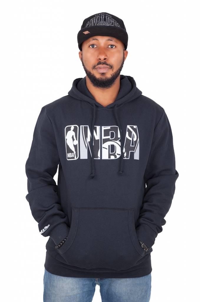 MITCHELL & NESS NBA Insider Hoody Noir