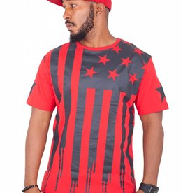 CAYLER & SONS BLACK LABEL V$A TEE RED/BLK