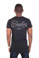 Madmext Herren T-Shirt mit Motiv Kurzarm Schwarz/Weiß