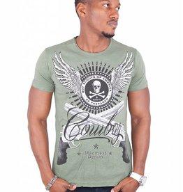 Madmext Men's T-Shirt with motif Short Sleeve