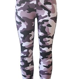 Jaza Fashion Damen Leggings Sexy Elastische Camouflage