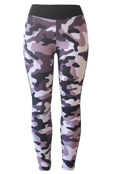 Jaza Fashion Leggings Camouflage Élastique Sexy