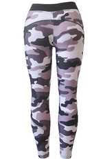 Jaza Fashion Damen Leggings Sexy Elastische Camouflage