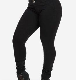 Jaza Fashion Women's Stylish High Waist Skinny Jeans Black