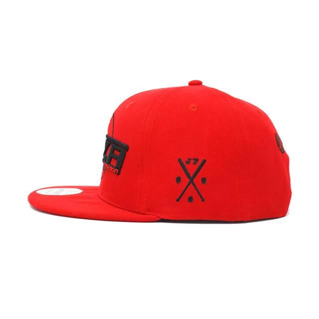 Jaza Fashion Jaza Fashion Snapback Cap Red