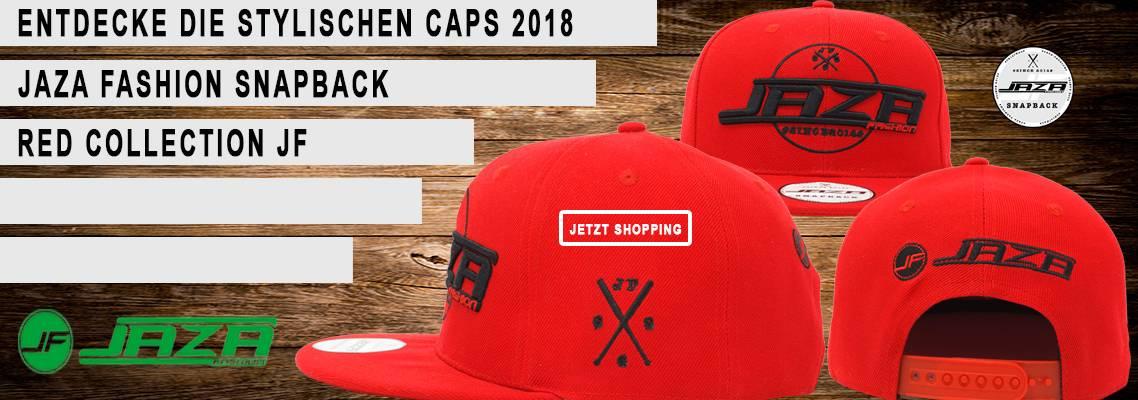 Jaza Fashion Herren Snapback Caps Banner EN