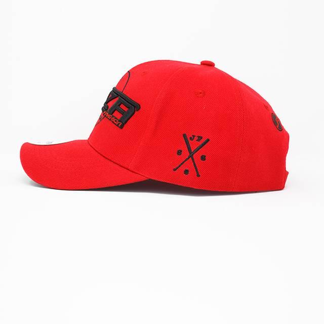 Jaza Fashion Jaza Fashion Baseball Cap Red