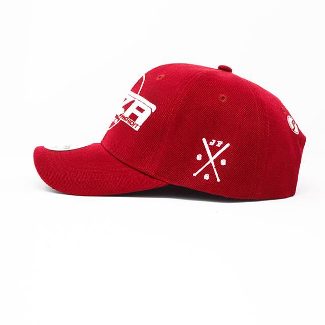 Jaza Fashion Jaza Fashion Baseball Cap Dark Red