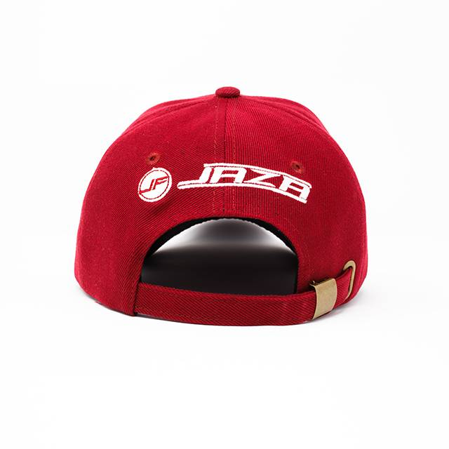 Jaza Fashion Jaza Fashion Baseball Cap DunkelRot