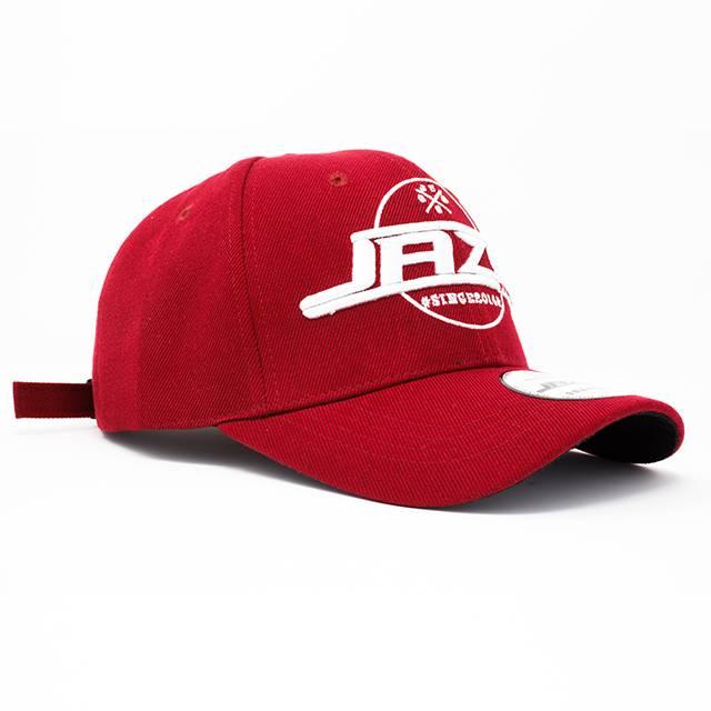Jaza Fashion Jaza Fashion Baseball Cap Rouge Foncé