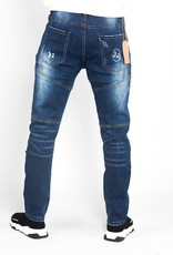 Jaza Fashion Bleach Wash - Jean déchiré