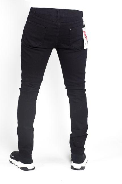 Herren Skinny Jeans Schwarz