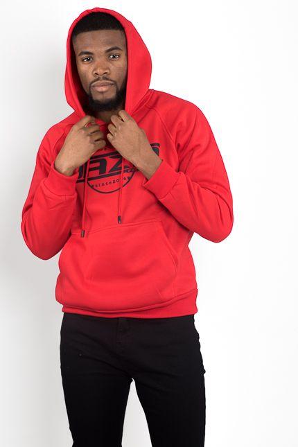 Jaza Fashion Jaza Fashion Hoody-Red