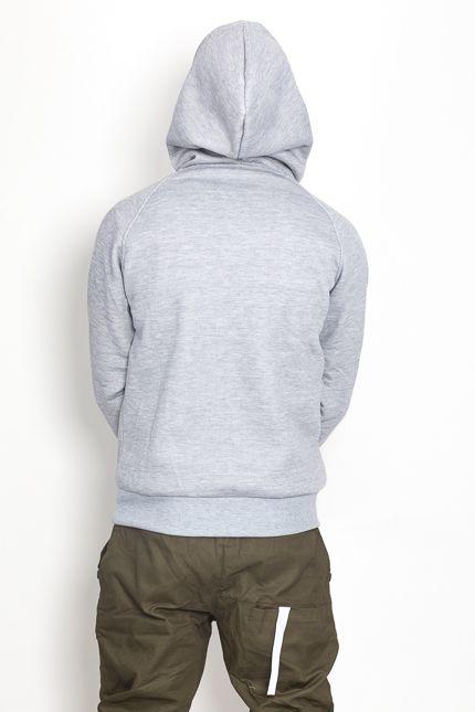 Jaza Fashion Jaza Fashion Hoody-Grau
