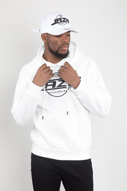 Jaza Fashion Jaza Fashion Hoody-White