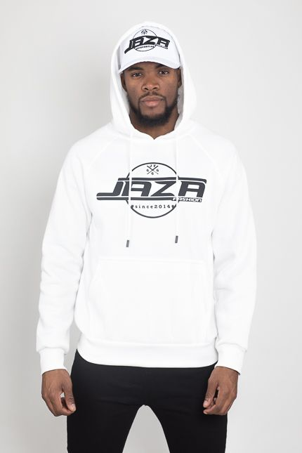 Jaza Fashion Jaza Fashion Hoody-Weiß