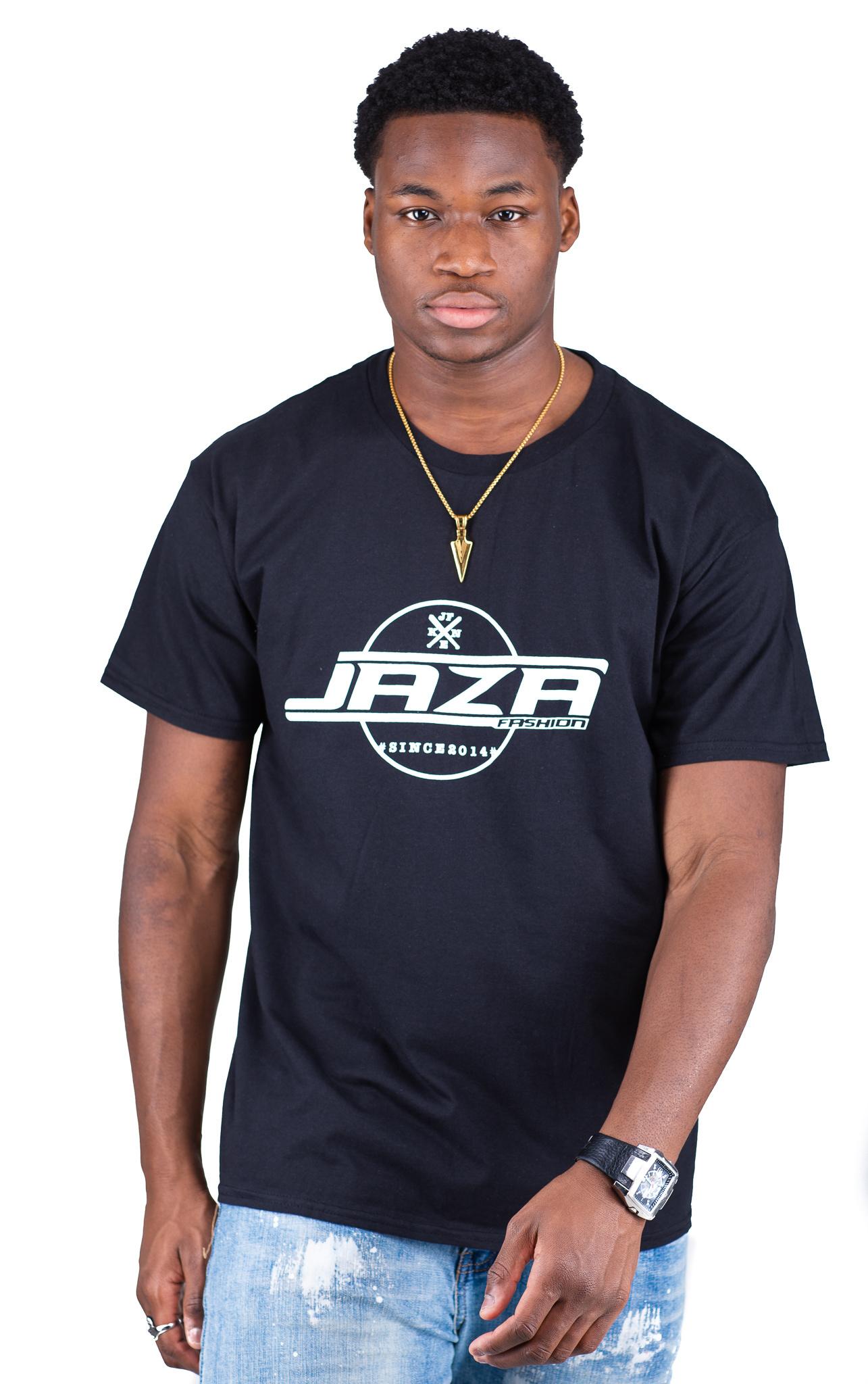 Jaza Fashion Jaza Fashion Herren T-Shirt en Noir